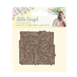 Crafter's Companion Sara Signature Little Angel Collection - Wooden Pegs